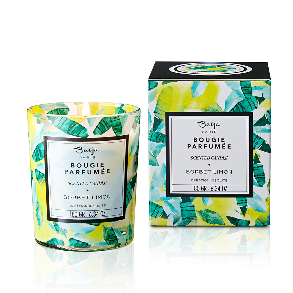 Baija – Bougie parfumée Sorbet Limon 180gr