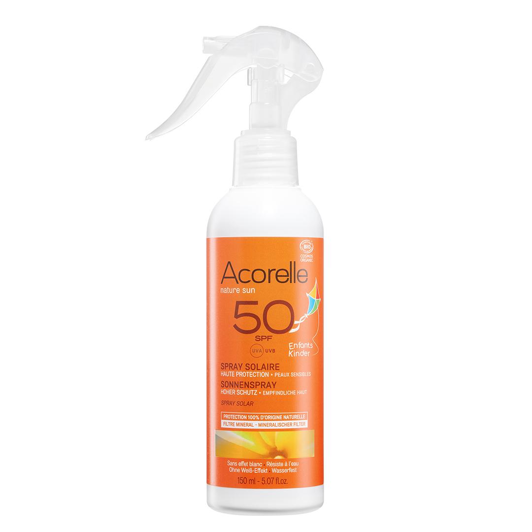 Acorelle – Spray solaire enfants SPF 50 150mL